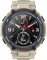 Часы Smart Watch Amazfit T-REX Khaki UA UCRF Гарантия 12 месяцев
