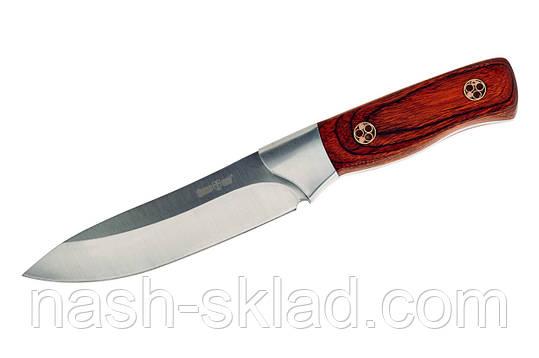Нож нескладной отличного качества, чехол в комплетке, фото 2