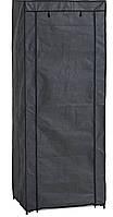 Тканинний шафа на металевому каркасі (60х150см), фото 1