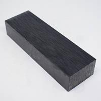 Бруски Микарта для рукоятки ножа № 95720 чорний торцевій 25х40х130