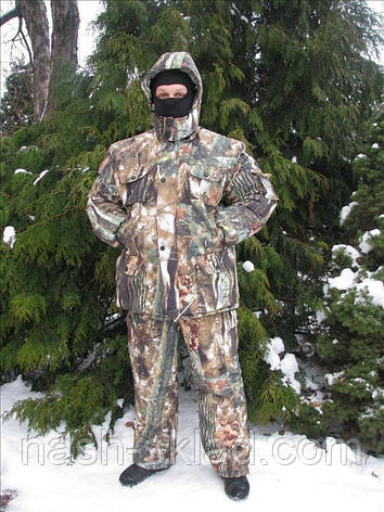 Зимний рыбацкий костюм, маскировочный костюм, фото 2
