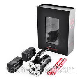 Мощный переносной фонарь, СУПЕРСИЛА, 4 аккумулятора, металлический корпус