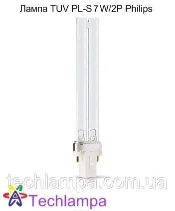 Лампа бактерицидная TUV PL-S 7W/2P Philips