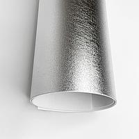 Фоамиран металлик 2 мм Серебро лист 60x70см, фото 1