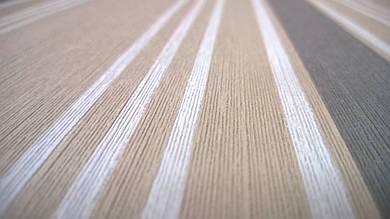 Виниловые обои Carnaby с рисунком, коричневого цвета на бумажной основе. Артикул 42612