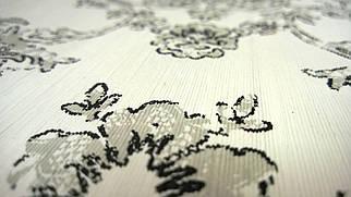 Виниловые обои Carnaby с рисунком, бело-черного цвета на бумажной основе. Артикул 42636