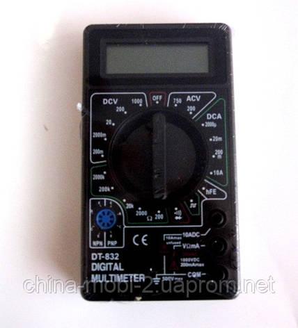 Цифровой мультиметр  DT-832, фото 2