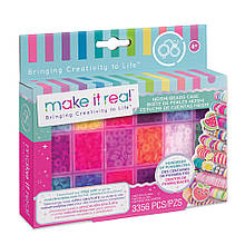 Make it Real: Великий набір для браслетів з намистинами Хейши і футляром Соковиті кольори