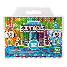 Набір з 12 ароматних гелевих міні-ручок SCENTIMALS