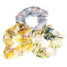 Гумки для волосся SCRUNCHIES Весняний настрій