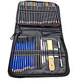 Набір олівців для малювання в нейлон професійний 95 предметів Олівці для скетчінга з альбомом, фото 6