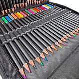 Набір олівців для малювання в нейлон професійний 95 предметів Олівці для скетчінга з альбомом, фото 8