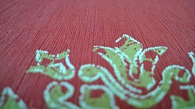 Виниловые обои Carnaby с рисунком красного, цвета на бумажной основе. Артикул 42656