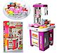 Детская игровая кухня 922-49, звук, свет, течет вода, в коробке, на 49 предмета, фиолетовая, фото 4