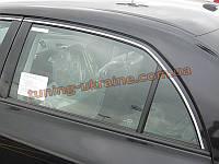 Хромированные накладки верхние на двери Chevrolet Cruze 2012+