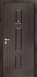 Входная дверь SteelGuard Форт 178 U венге, размер 860/960 х 2040 мм