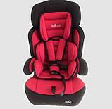 Универсальное автомобильное кресло с откидной спинкой и съемным вкладышем JOY 20545 (9-36 кг), красное, фото 3