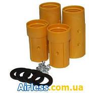CСоплодержатель для пескоструйных сопел NHP -1, NHP - 2  для пескоструйного рукава 25-32мм