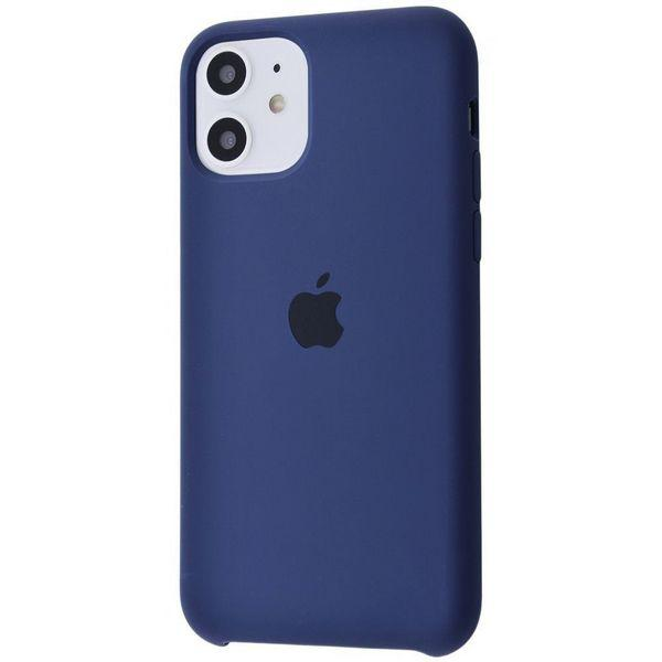 Чохол Silicone Case High Copy для iPhone 11 midnight_blue