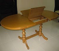 Стол «Гирне 4»  из натурального дерева овальный   1350(1750)х800   РПМК