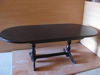 Стол овальный для столовой раздвижной «Гирне»