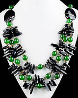 Ожерелье из хризопраза