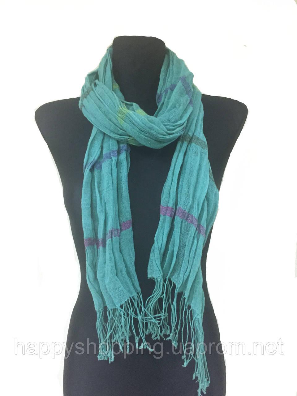 Бирюзовый шарф