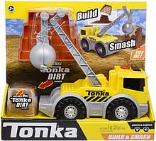 Tonka Build & Smash экскаватор спецтехника звук свет кинетический песок Lights and Sounds