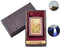 Зажигалка в подарочной коробке (Острое пламя, Фонарик) №UA-18