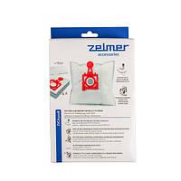 """Комплект мішків """"SAFBAG"""" (4шт) + фільтр для пилососа Zelmer 49.4200 12006468 (ZVCA300B) (code: 05723)"""