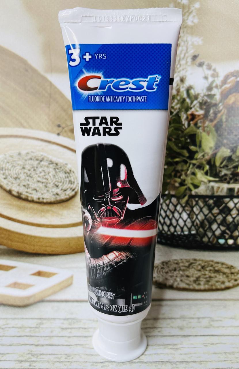 Дитяча зубна паста Сrest Star Wars