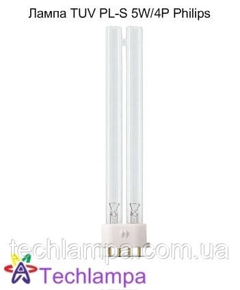 Лампа бактерицидная TUV PL-S 9W/4P Philips