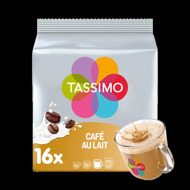 Кава в капсулах Тассімо - Tassimo Café au Lait (16 порцій)