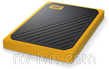 Диск зовнішній WD My Passport Go 2TB yellow