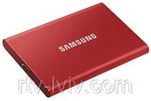 Диск зовнішній Samsung Portable SSD T7 2TB red