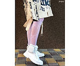 Кеды высокие с резиновым носком и мини-сумочкой, фото 3