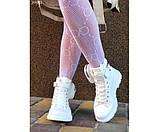 Кеды высокие с резиновым носком и мини-сумочкой, фото 5