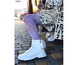 Кеды высокие с резиновым носком и мини-сумочкой, фото 6