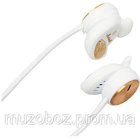Marhsall Minor White миниатюрные наушники с микрофоном, 32 Ом