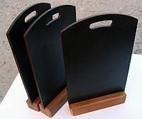 Грифельная табличка для мела, радиусный верх, формат А5