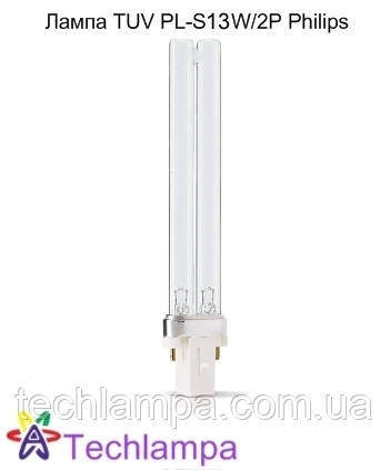 Лампа бактерицидная TUV PL-S 13W/2P Philips