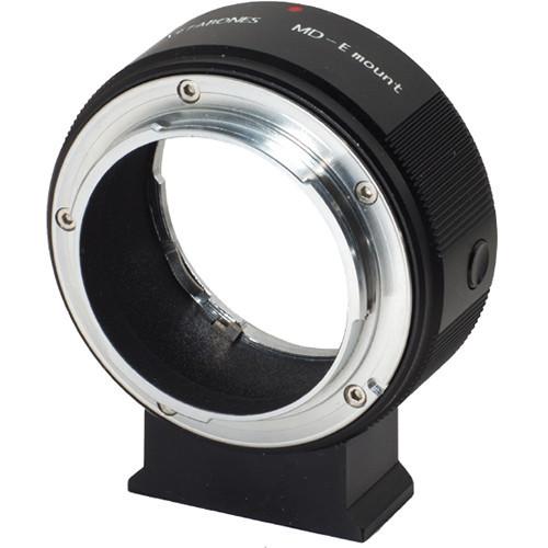 Metabones Minolta MD Mount Lens to Sony NEX Camera Lens Mount Adapter (Black) (MB_MD-E-BM1)