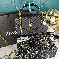 Стильная женская сумка YSL Ив Сен Лоран в коробке