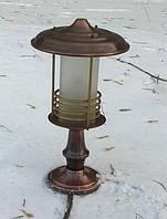 Ландшафтный светильник из меди