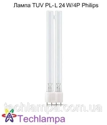 Лампа бактерицидна TUV PL-L 24W/4P Philips