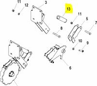 Натяжник пружини (KL844950)