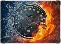 Обложка кожаная для автодокументов Скорость