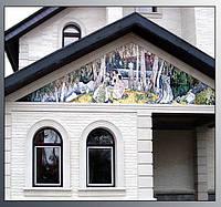 Фасад в стиле Борисова-Мусатова кафель на пол, стены