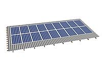 Комплект на 18 модулей на металлочерепичную скатную крышу.