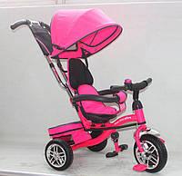 Детский трёхколёсный велосипед AT0107 Розовый